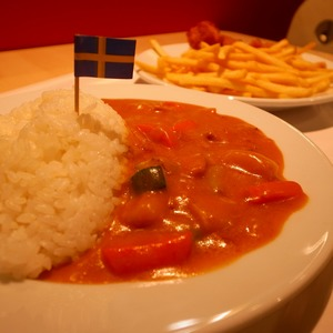 空飛ぶヤコブさん@IKEAレストラン